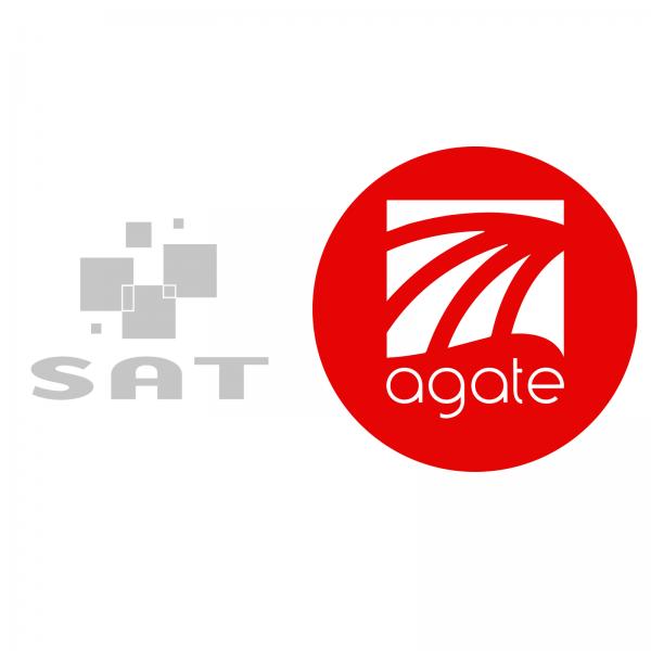 Logo univers agate