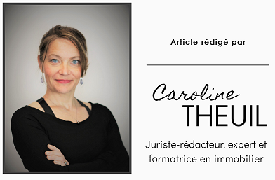 Caroline theuil juriste redacteur et formatrice en immobilier